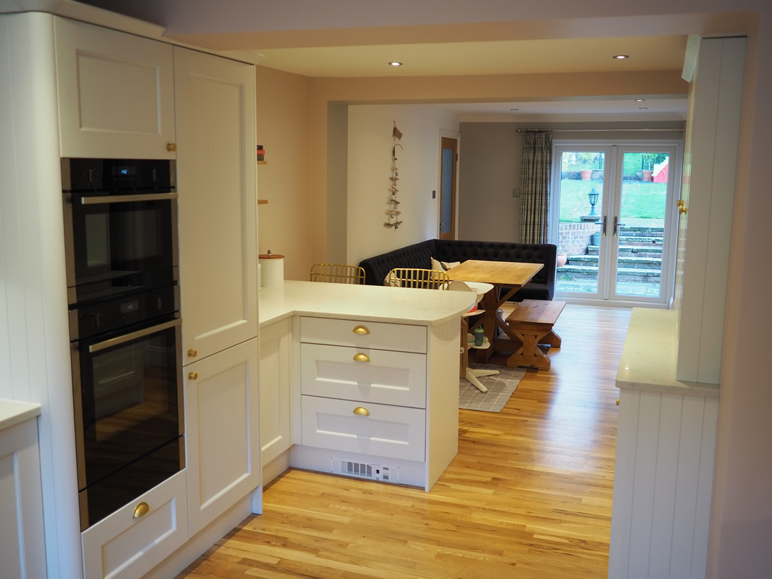 Painted Kitchen Project in Caterham