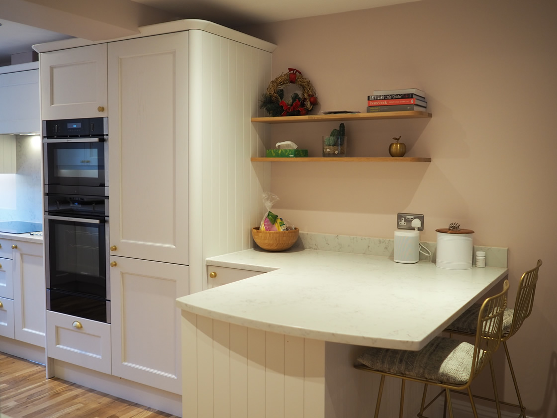 Painted Kitchen Project in Surrey