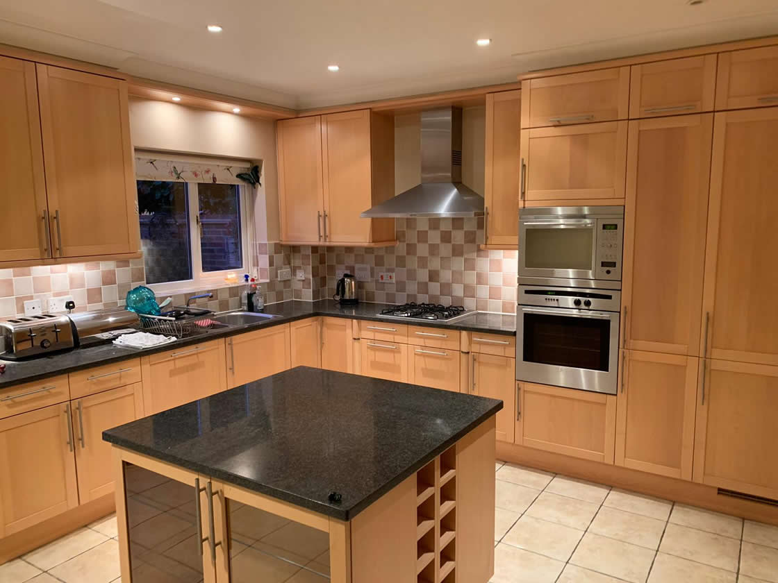 Bespoke Kitchen Project in Epsom - Before 1