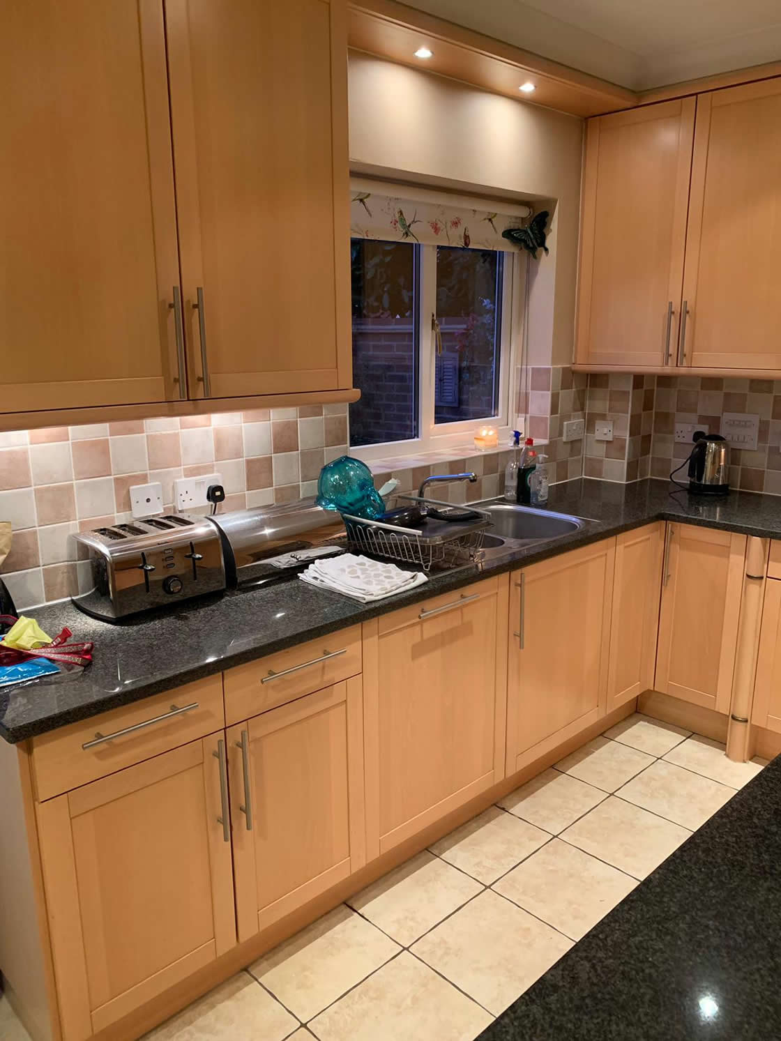 Bespoke Kitchen Project in Epsom - Before 2