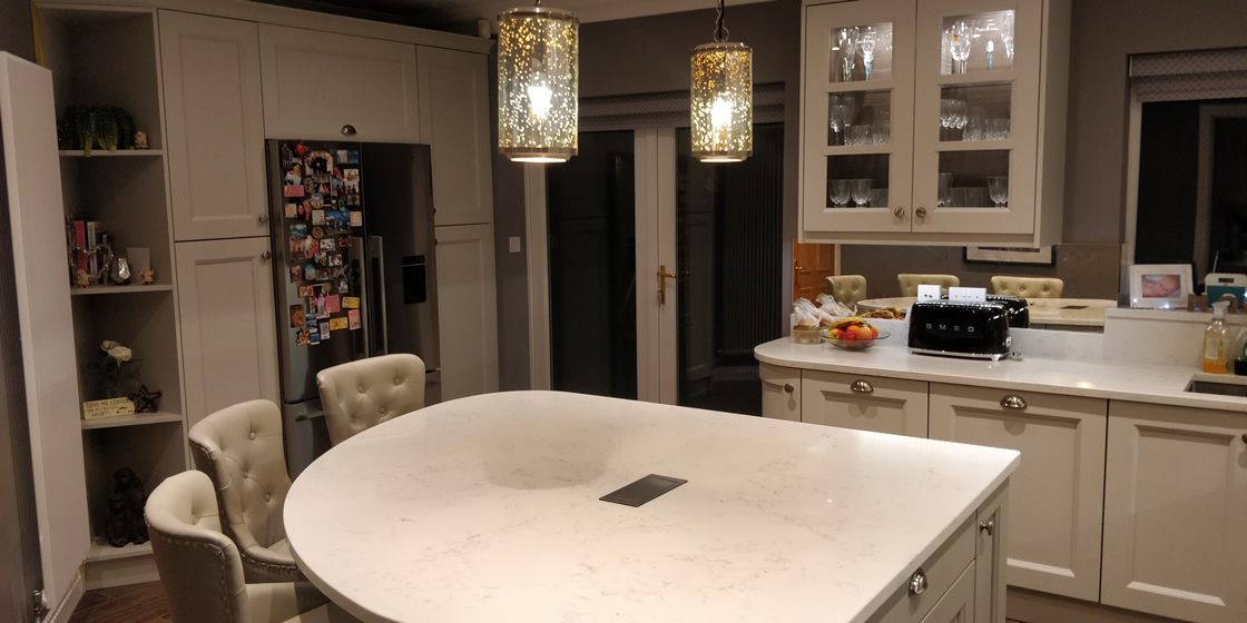 Bespoke Painted Kitchen Project in Epsom