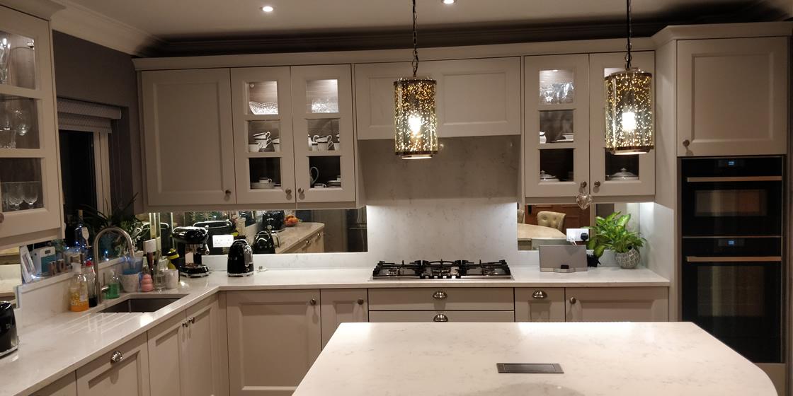 Painted Shaker Kitchen Installation in Epsom