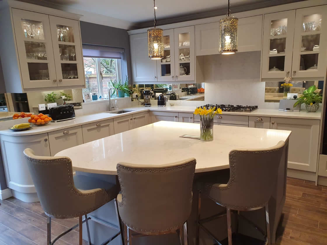 Shaker Kitchen Style in Painted French Grey