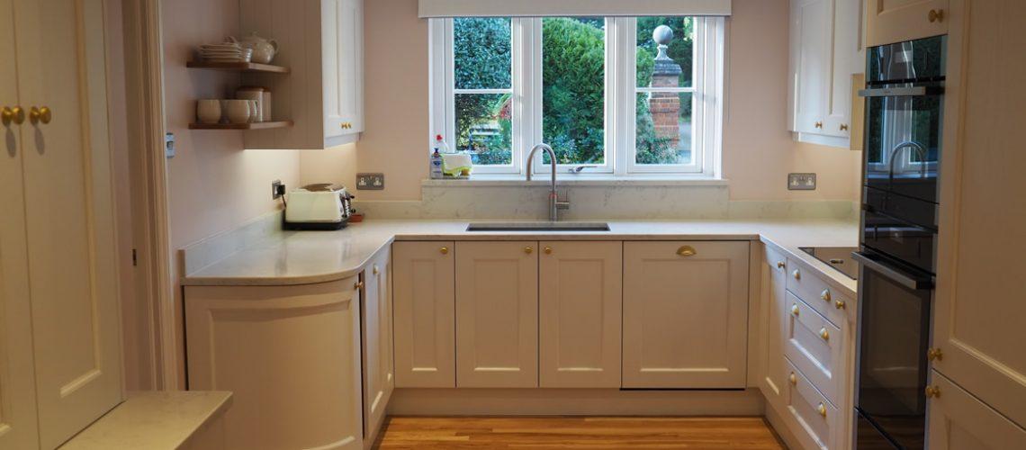 Bespoke Painted Kitchen Installation in Caterham Surrey