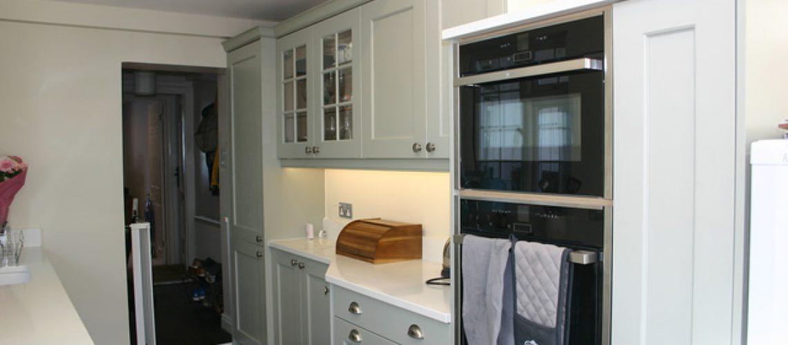 shaker-kitchen-showing-new-eye-level-oven