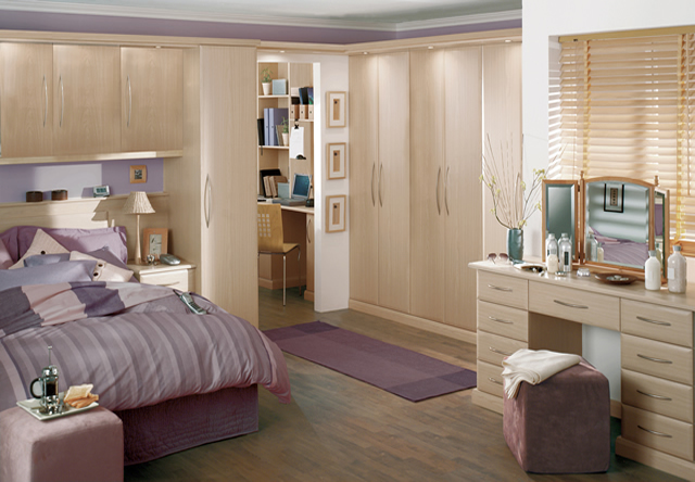 Ascot Ferrara Oak Fitted Bedroom