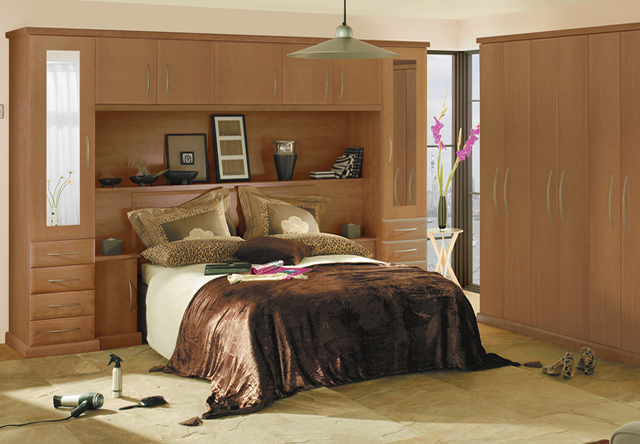Ascot Walnut Fitted Bedroom