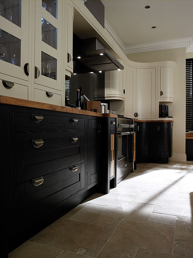 PW-Inframe-Charcoal Inframe Kitchen