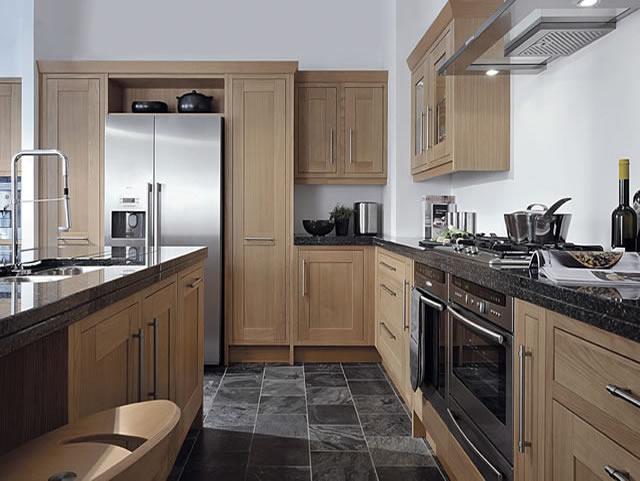 PW-Inframe-Oak Inframe Kitchen