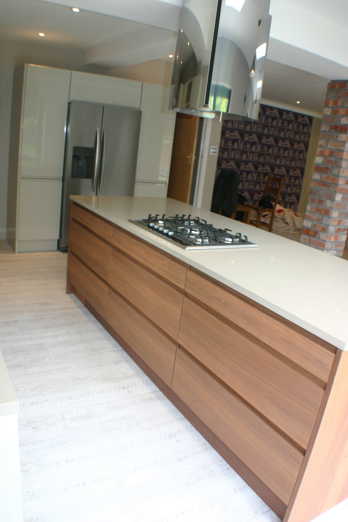 South Sutton Kitchen Extension with Large Kitchen Island