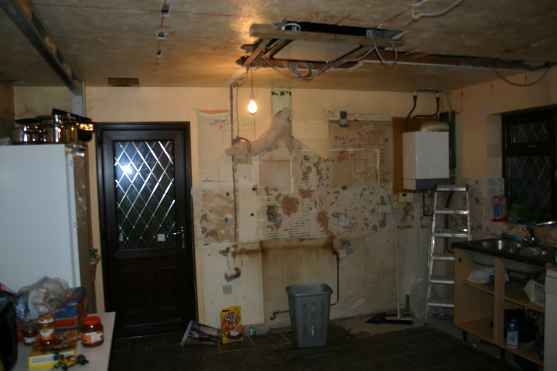 Large Raymer Walk Old Kitchen Removal Part2