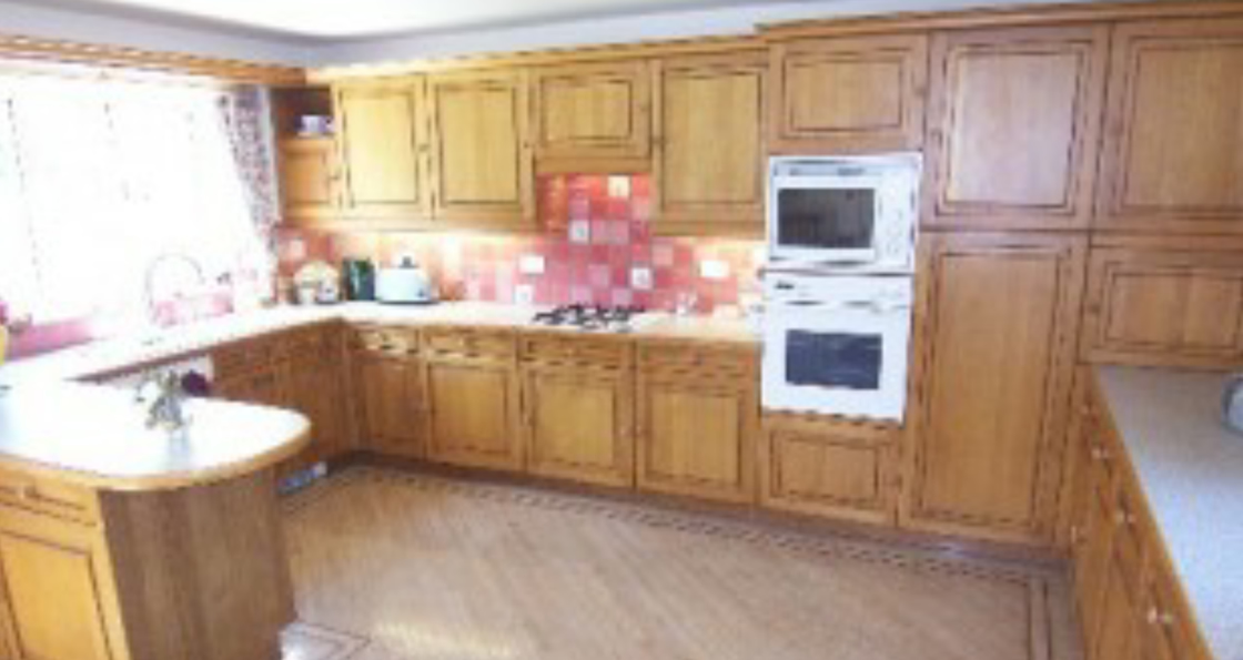 Large Kitchen Before