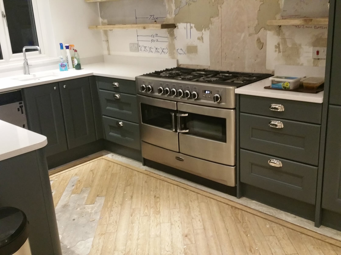 Large Worktops Installed
