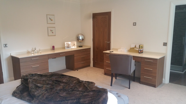 Bedroom 2 Showing Built in Dressing Tables