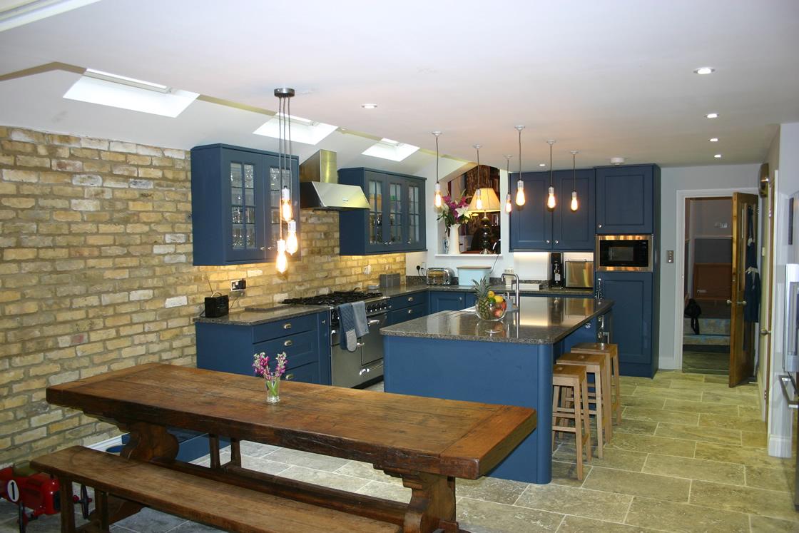 Large Kitchen Installation in Wandsworth