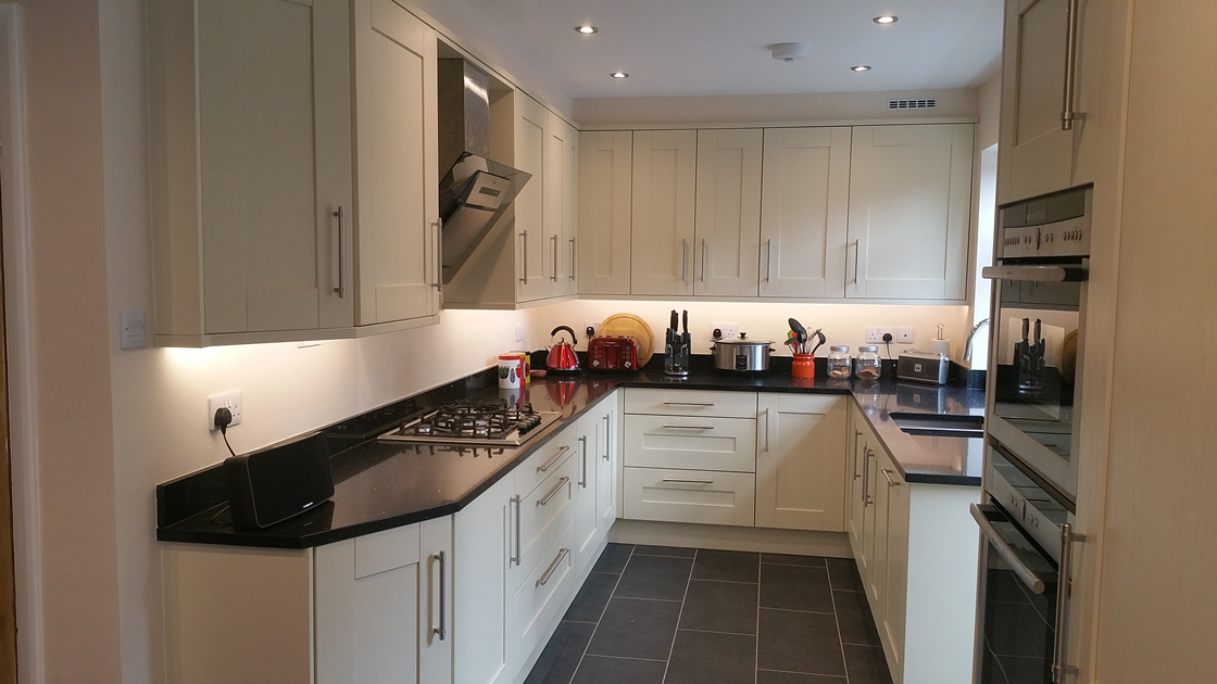 Large Shaker Kitchen Redhill Surrey
