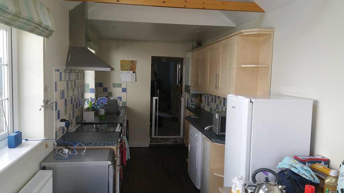 Large Picture of old kitchen before re-design