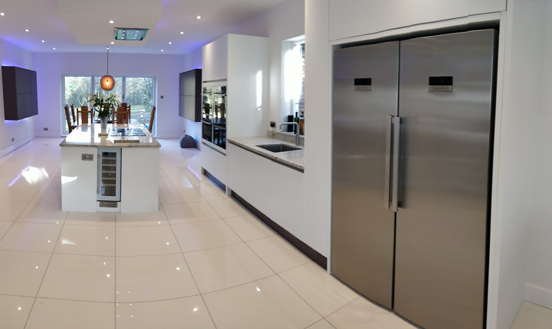 Large Bletchingley Bespoke Kitchen Designers