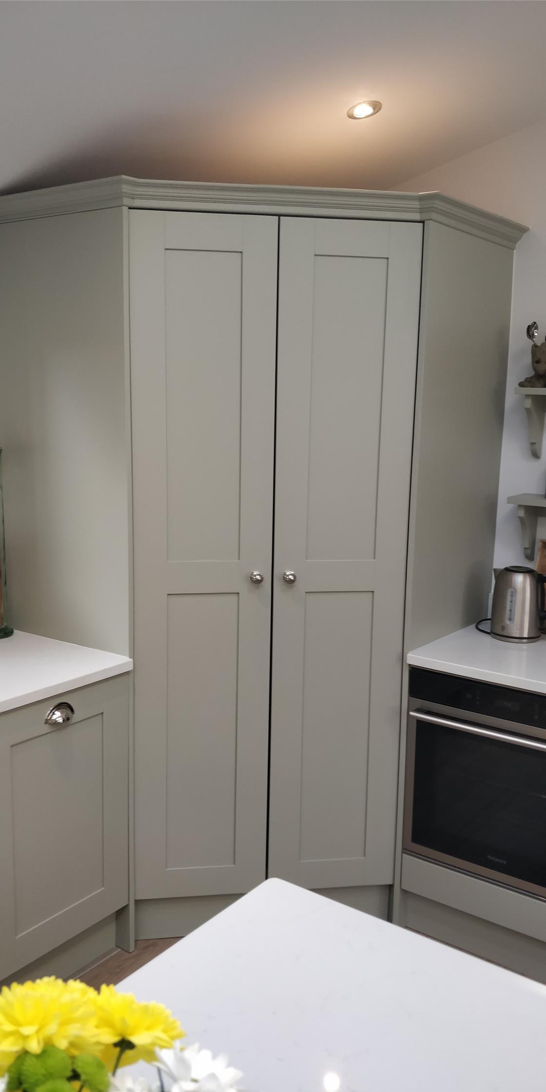 Large Crawley Bespoke Kitchen Larder Design