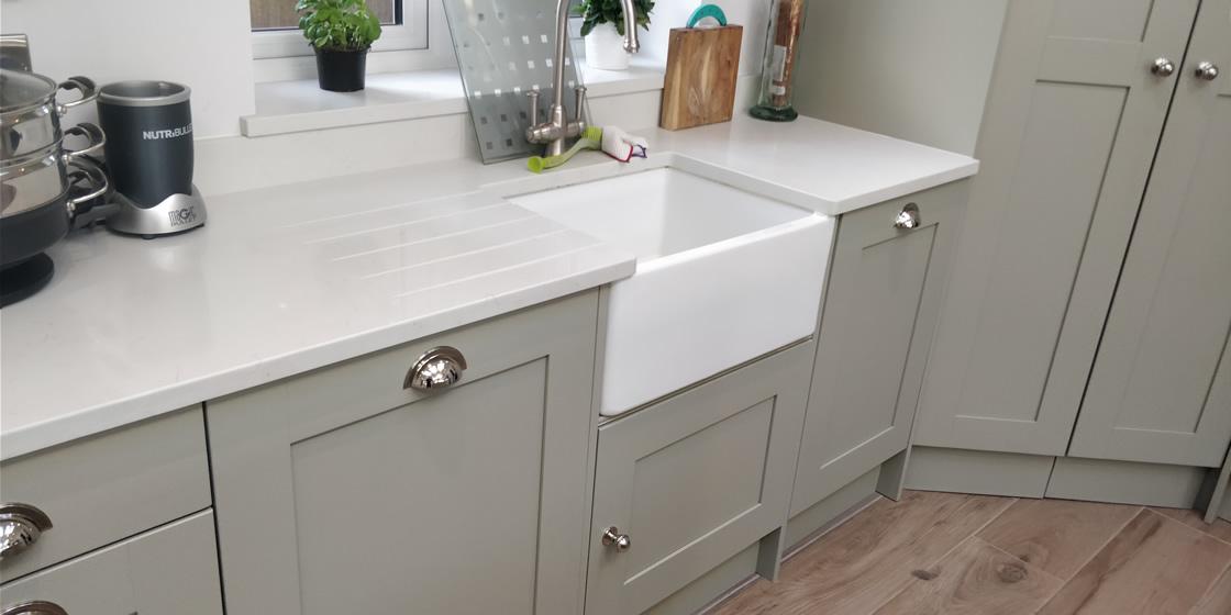 Large Crawley Bespoke Kitchen Sink