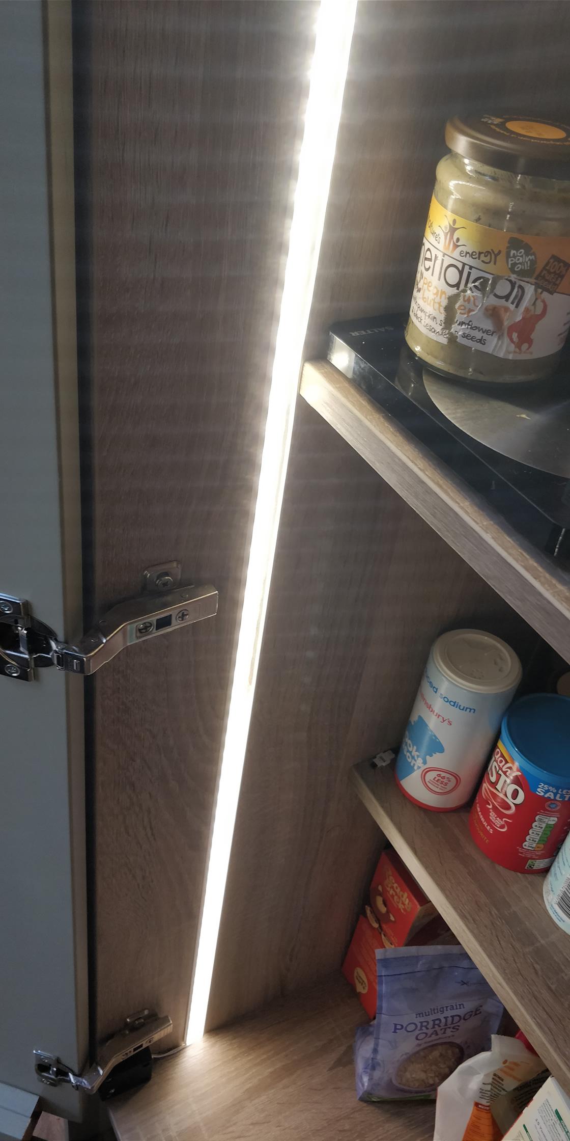 Large Kitchen LED Cupboard Lighting