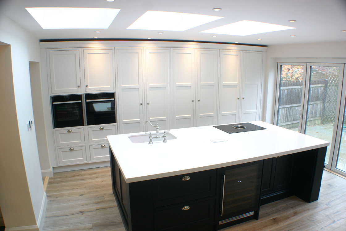 Bespoke Ash Kitchen Design in Reigate Surrey