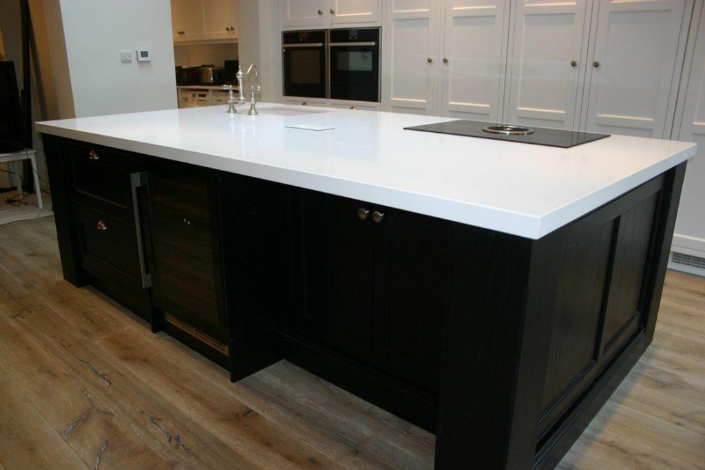 Bespoke Kitchen Design Island in Reigate Surrey