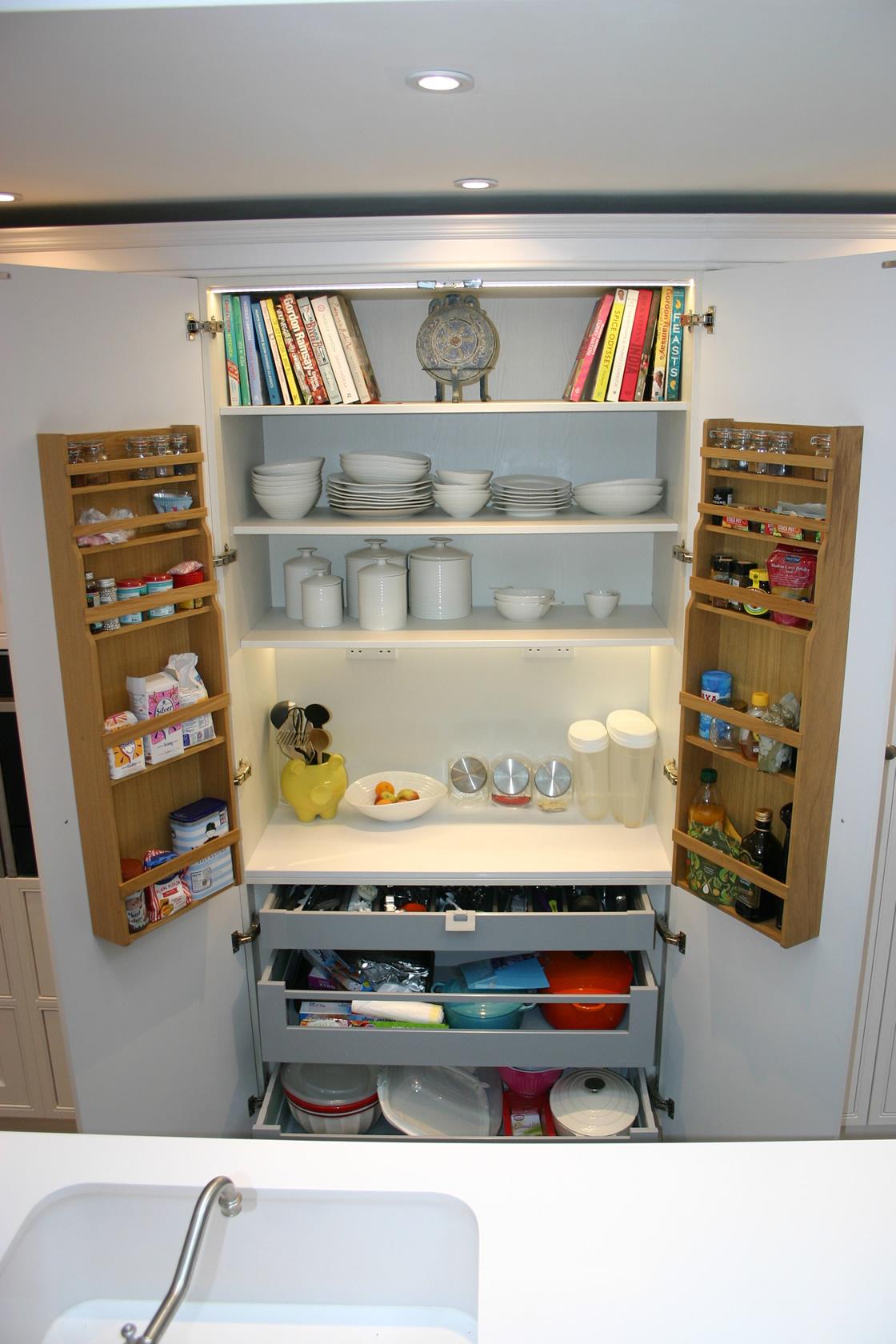 Bespoke Kitchen Storage Units
