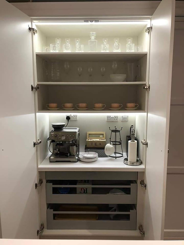Tall Kitchen Units in Bespoke Kitchen
