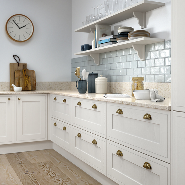 Classic In-frame Effect Kitchen Example 1