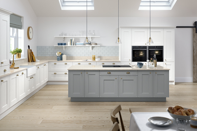 Classic In-frame Effect Kitchen Example 2