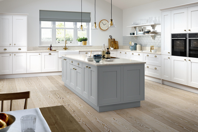 Classic In-frame Effect Kitchen Example 4