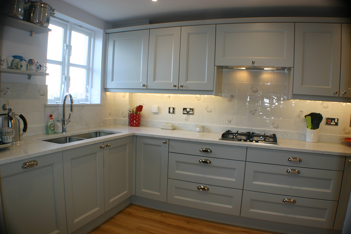 Bespoke Kitchen in Dove Grey Royal Earlswood Park