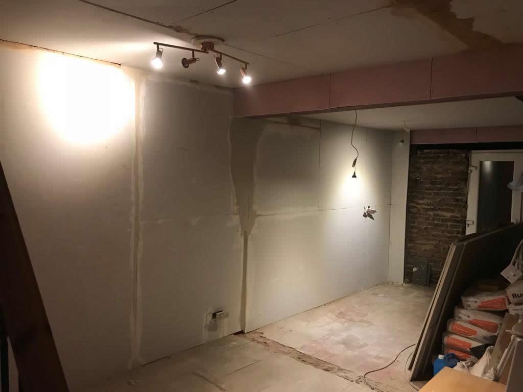 Bespoke Kitchen installation Merstham Before 1