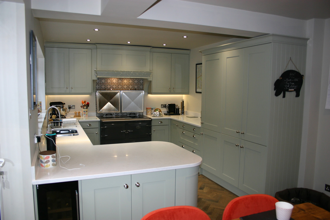 Bespoke Shaker Ash 90mm Frame Kitchen Surrey
