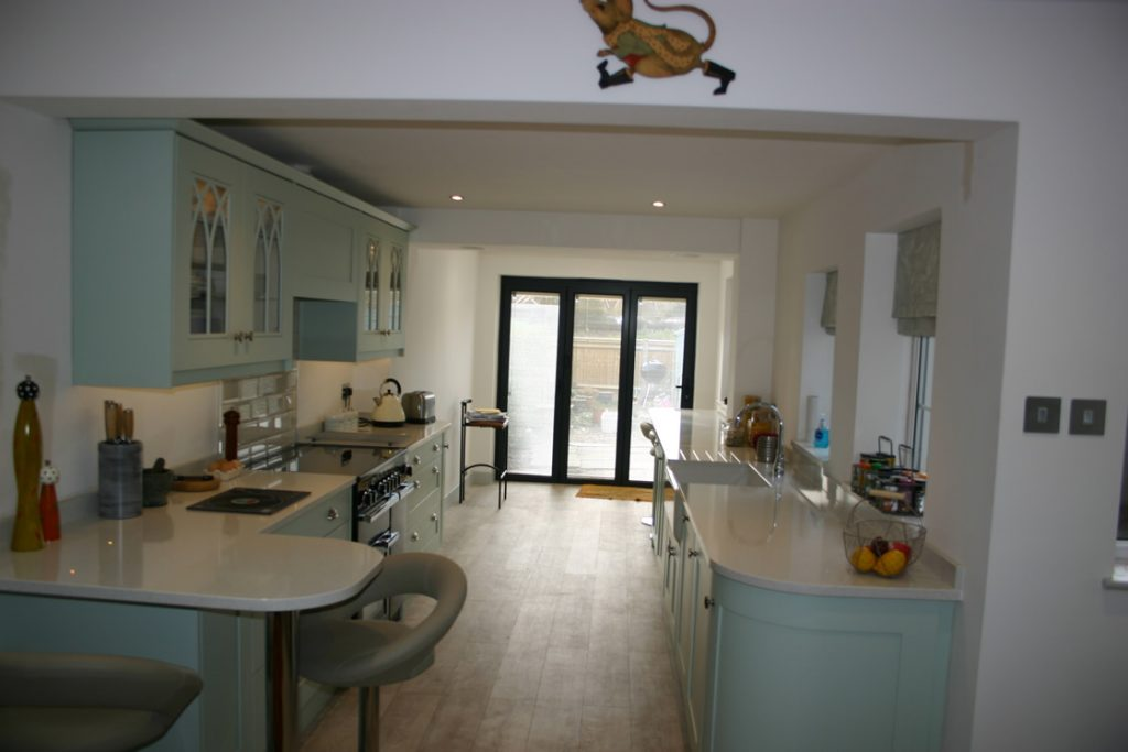 Bespoke Shaker Kitchen installed in Merstham Surrey