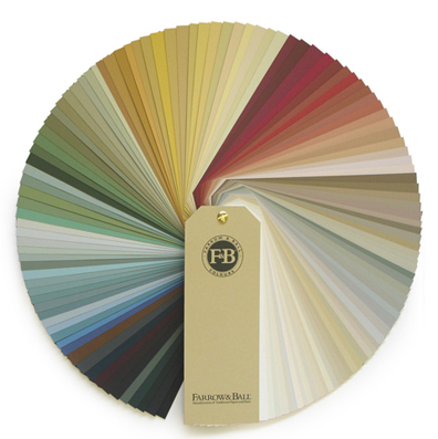 Farrow and Ball Colour Fan