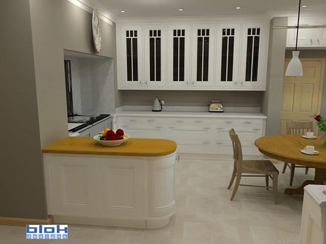In-frame Kitchen 3D Design