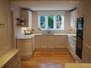 Bespoke Painted Kitchen Installation in Caterham Surrey