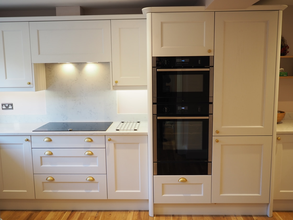 Bespoke Painted Kitchen Installation in Caterham