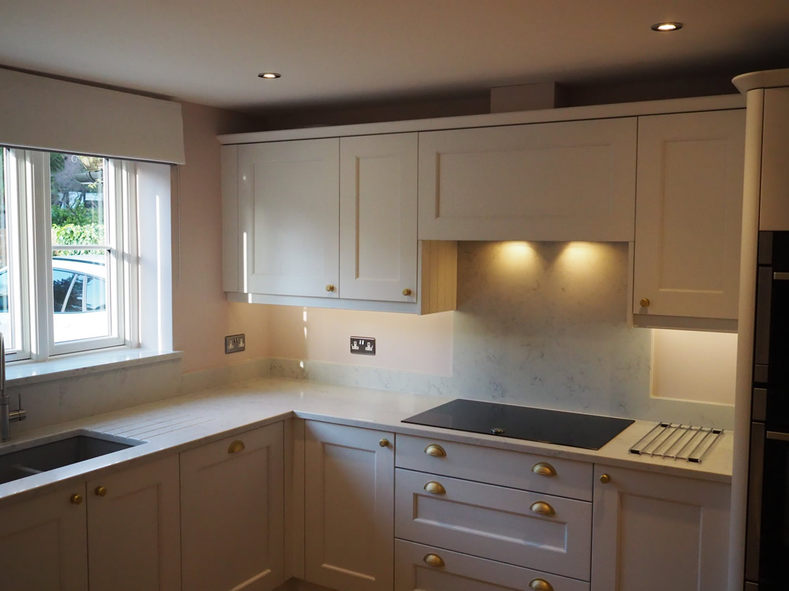Bespoke Painted Kitchen Installation in Surrey