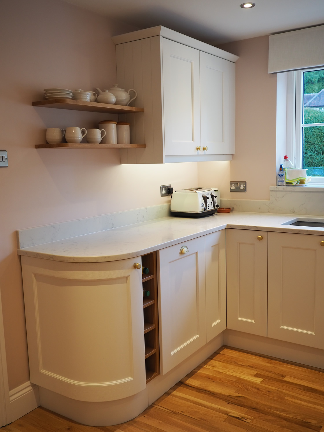 Painted Kitchen Project in Caterham Surrey