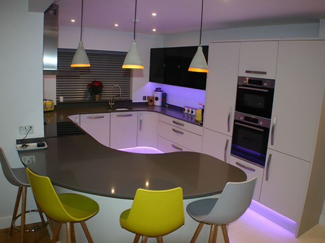 Curved Kitchens Surrey Main Image