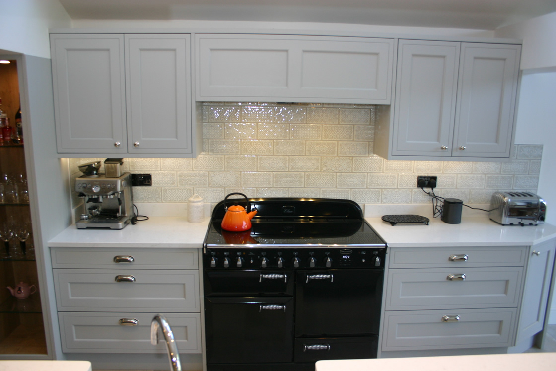 Bespoke In-Frame Effect Kitchen with Aga Cooker