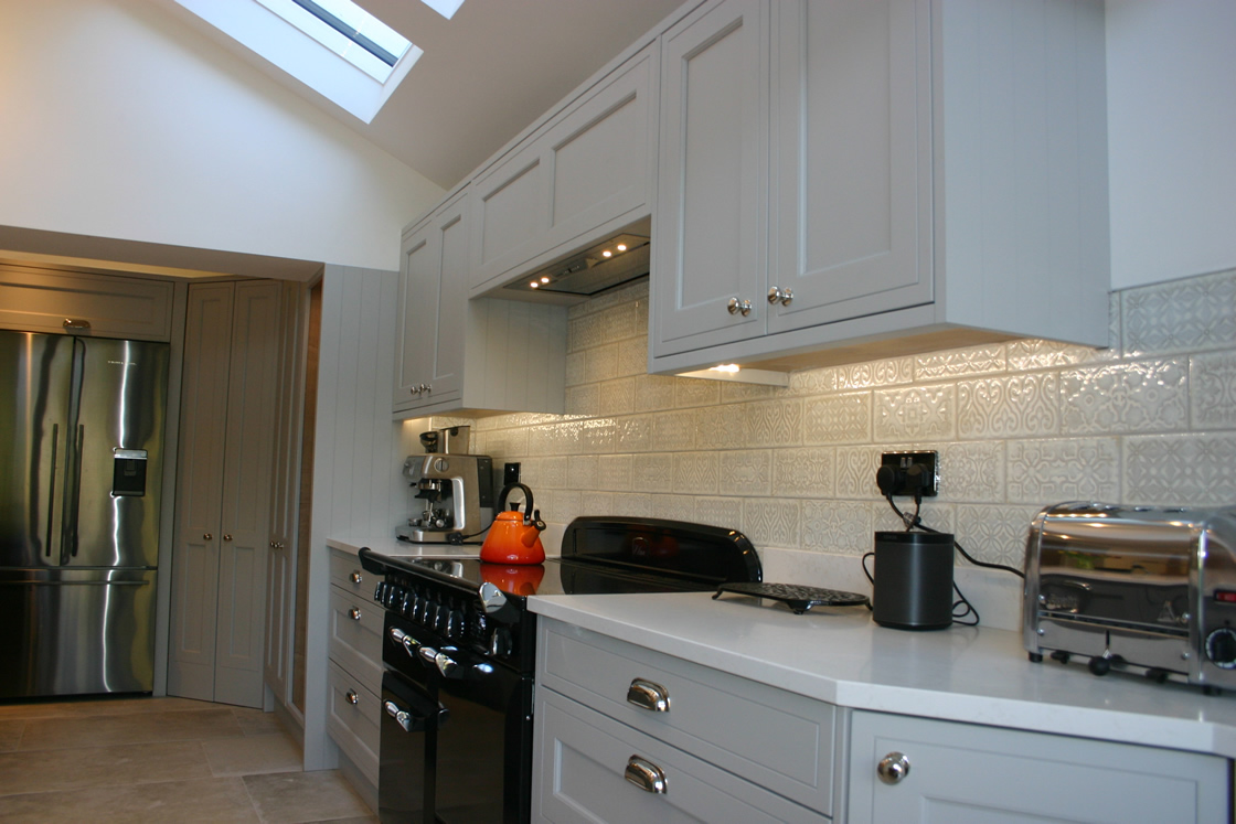 Bespoke In-Frame Effect Kitchen with Island in Redhill Surrey