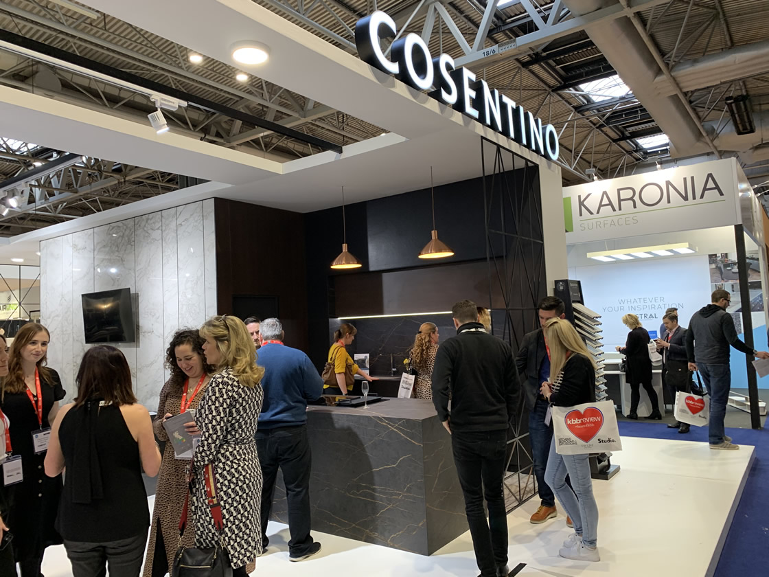 Cosentino stand 2