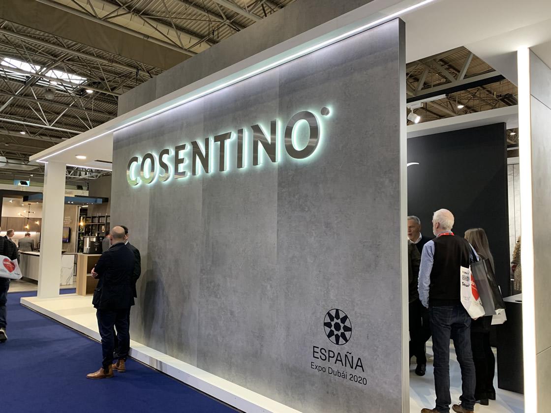 Cosentino stand