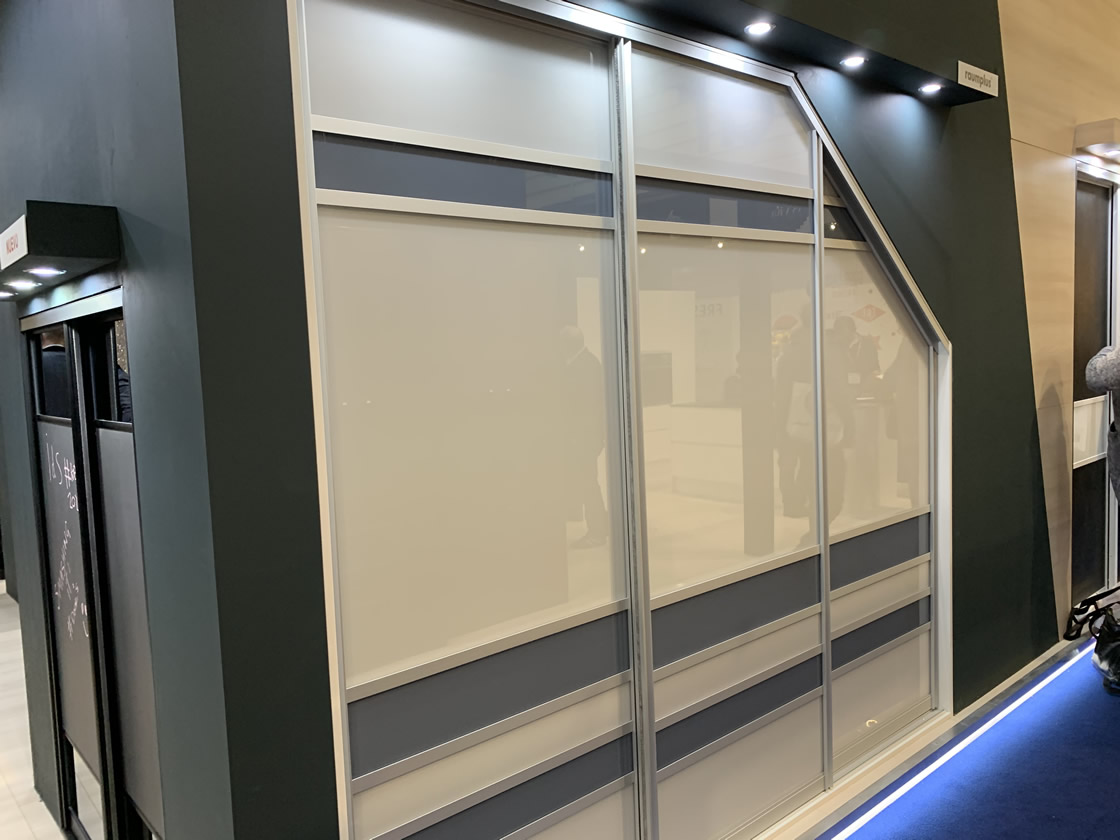 Fitted wardrobes display