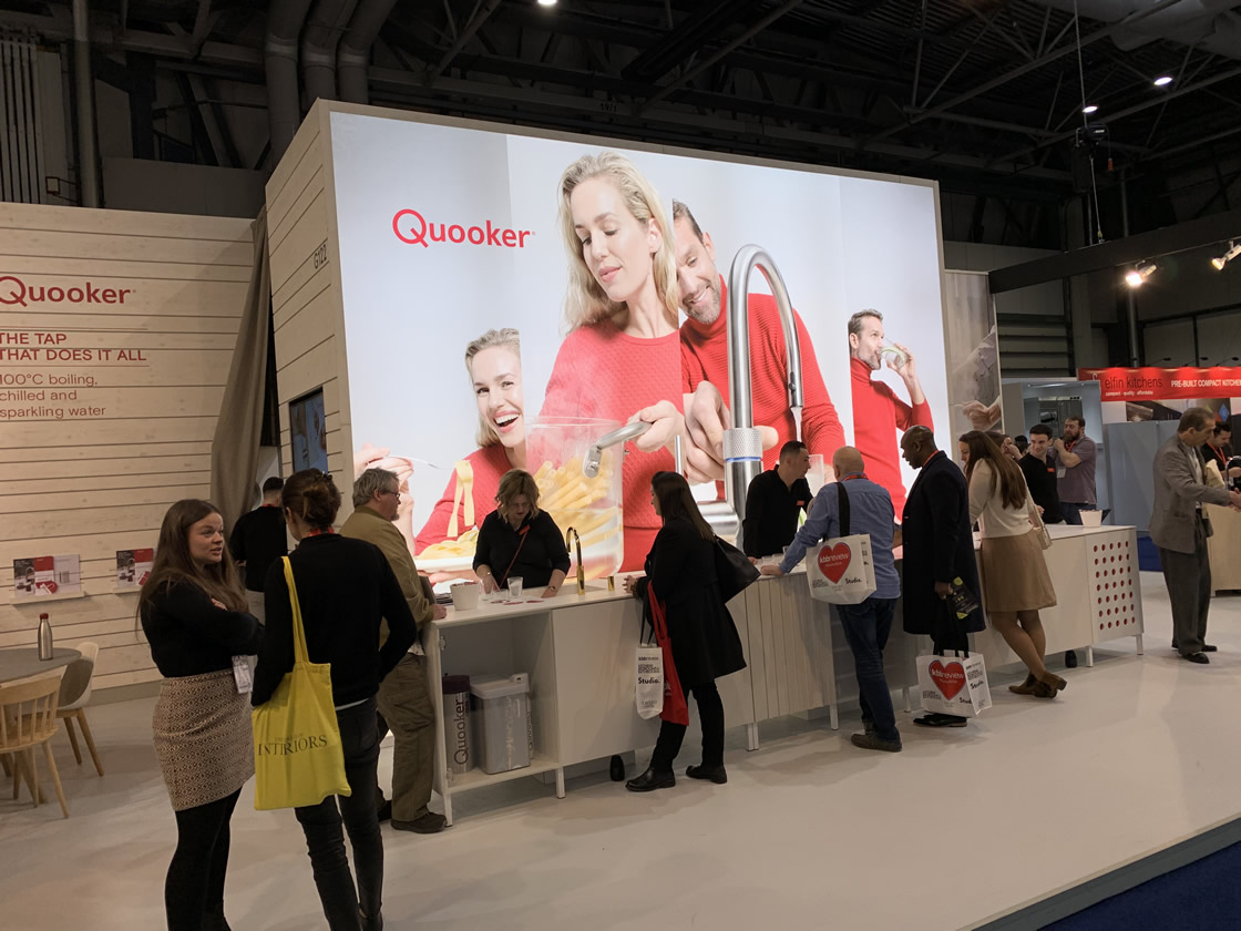 Quooker stand