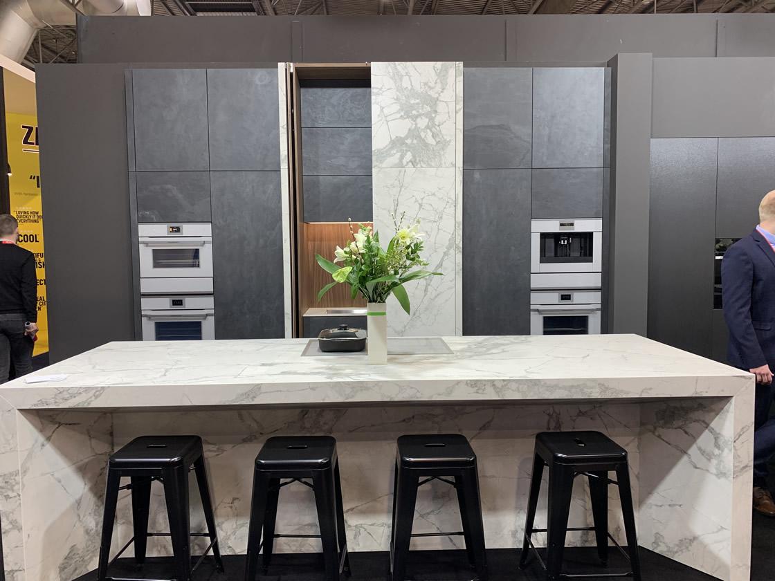 RAK ceramics kitchen island display 3